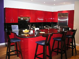 Tanturri Red Kitchen