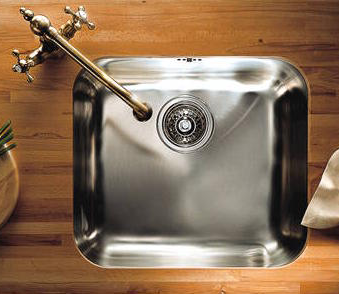 small kitchen sink by Franke